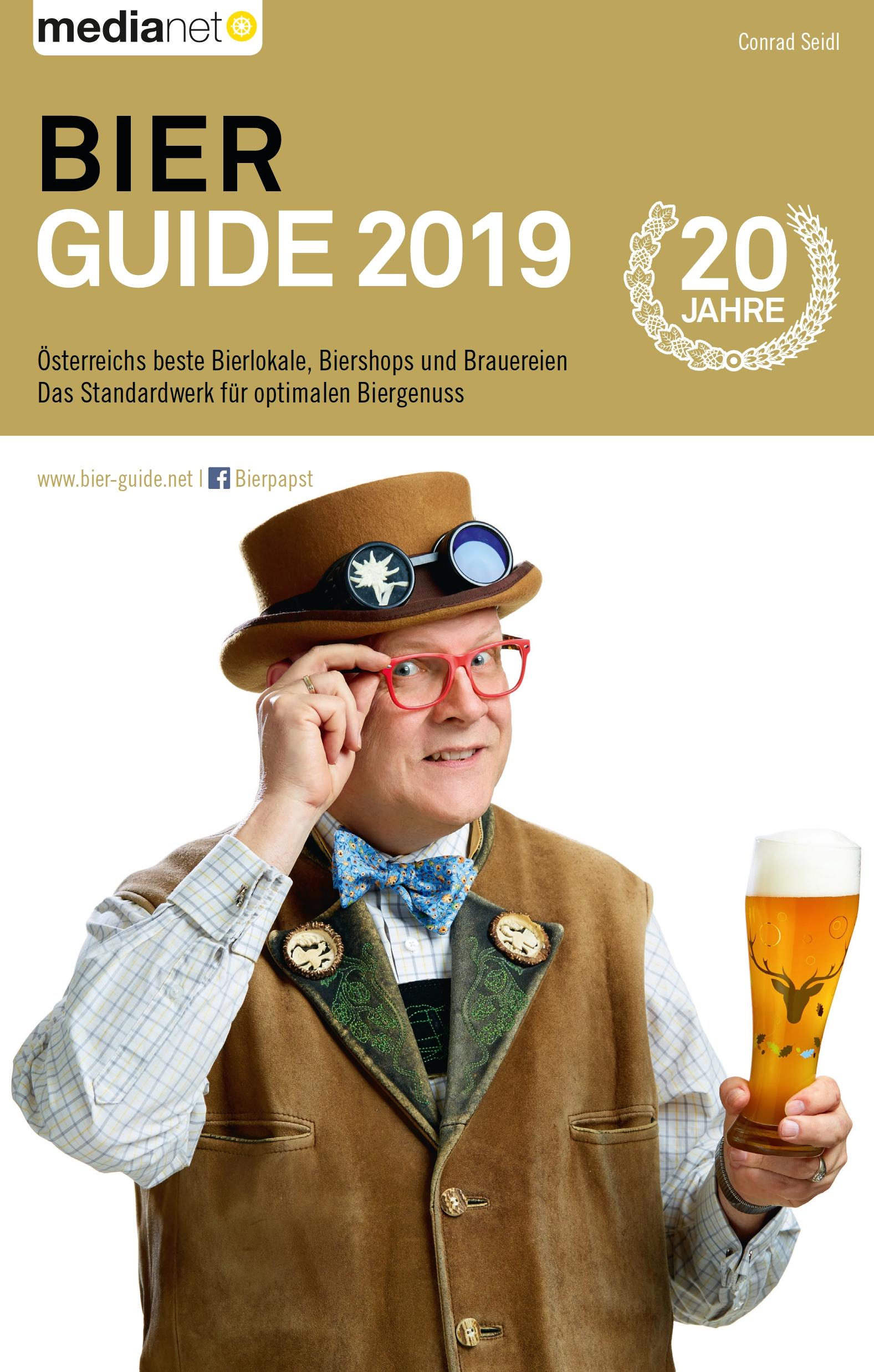 Titelbild des Bier Guide 2019